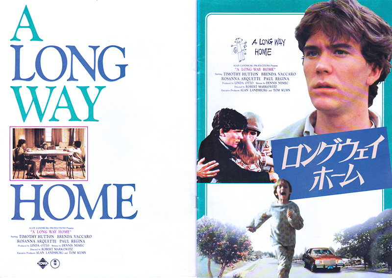 Movie flyer in Japanese